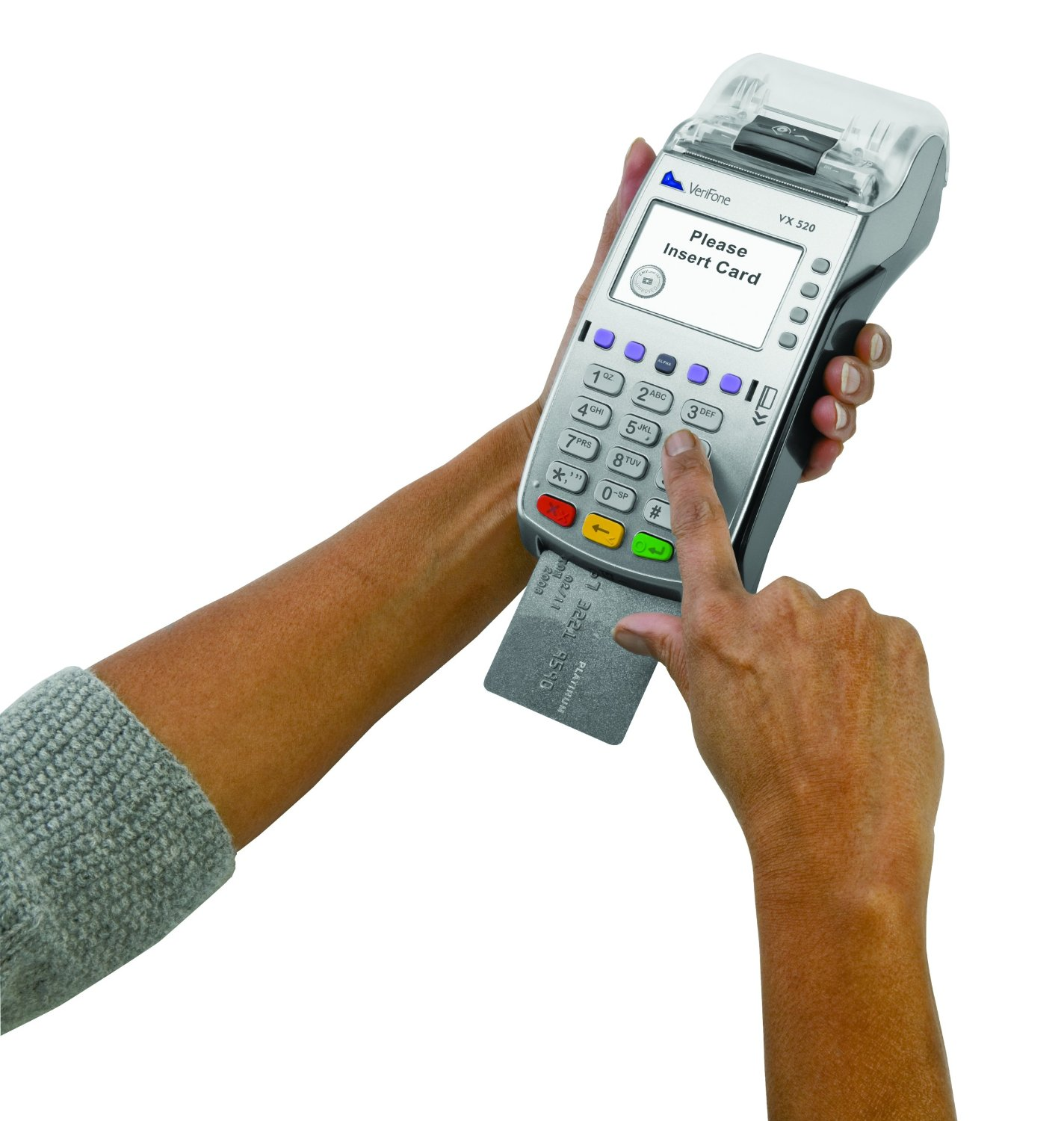 VX520 EMV Terminal credit card processing